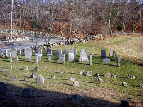 The Smith-Appleby House Cemetery, December 2006