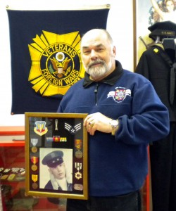 Leo Swider of Georgiaville served in the United States Air Force during the Vietnam War.
