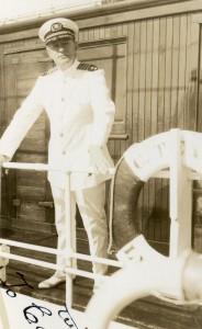 Captain Peder A. Johnson of Spragueville.