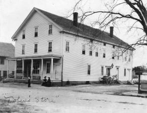 Tobey's general store circa 1900. (Photo courtesy of Priscilla W. Holt