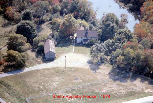 The Smith-Appleby House property in 1974