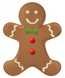 decorate your own christmas gingerbread man