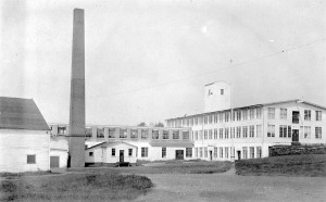 Labor strikes in the early 20th century were common and often violent.  In 1910, this mill on Austin Avenue was the scene of two armed confrontations between mill workers and police.