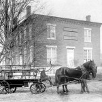 Greenville's first fire engine, the Water Witch, mysteriously vanished without a trace. Photo courtesy of Priscilla W. Holt