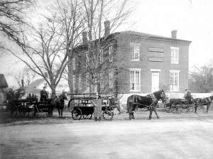 Greenville Fire Company - Circa 1900. Priscilla Holt photo