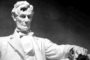 A portrait of Abraham Lincoln has hung in a Smithfield school since 1939, yet few today know the tragic story connected to it.