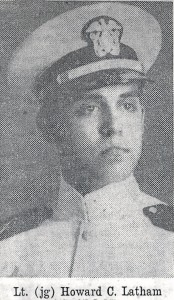 Lieutenant (jg) Howard C. Latham of Esmond served aboard the ill fated USS Escolar during World War II.