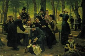 Old Fashioned Family Picnic